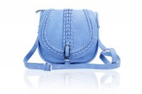 Medium cross body/messenger bag with braid detail on flap