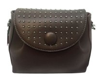 Small cross body with studs on flap
